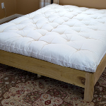 Signature ECO-Pure wool mattress with topper