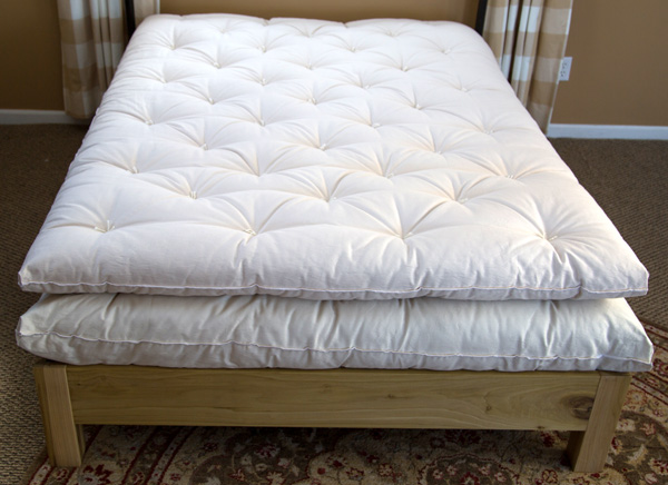 Standard ECO Pure Wool Mattress Topper | Made in USA Wool Mattress