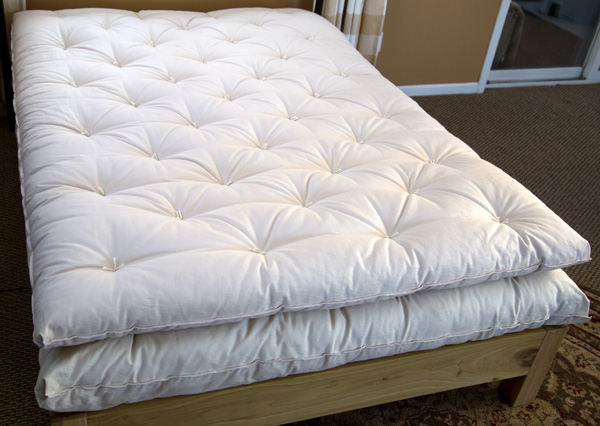 All Natural Wool Mattress Topper