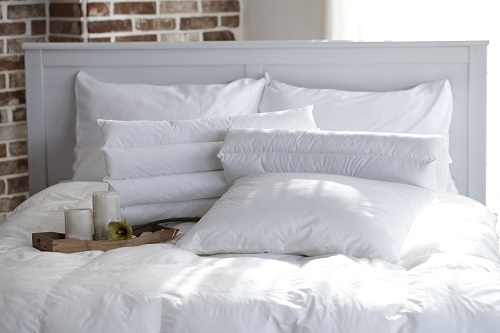 Wool Bed Set in White