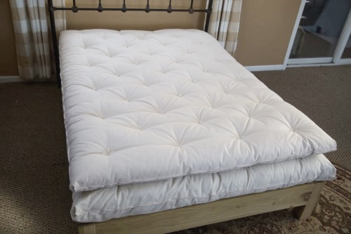 Wool Mattress with Topper