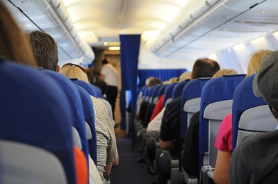 Crowded Airplane