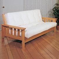 amish wood futon - Wood Frame Futon With Mattress