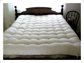 organic wool mattress topper Organic Wool Mattress Toppersthe Wool Bed Company™ Surround Ewe  organic wool mattress topper
